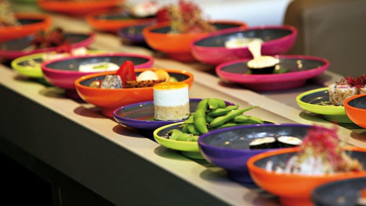 Image of Special Guest Dinner with Simon Woodroffe, founder of YO! Sushi event