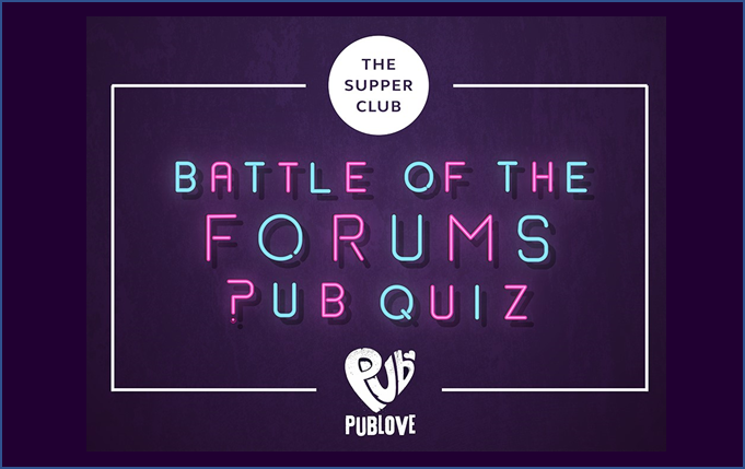 Image of Battle of the Forums: Pub Quiz event