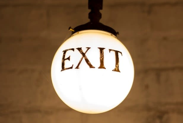 Image of Get ready to exit event