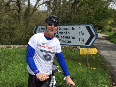 The Trade Centre Wales support Mike O'Neil as he takes on The Charitable Trust Cycle Ride image