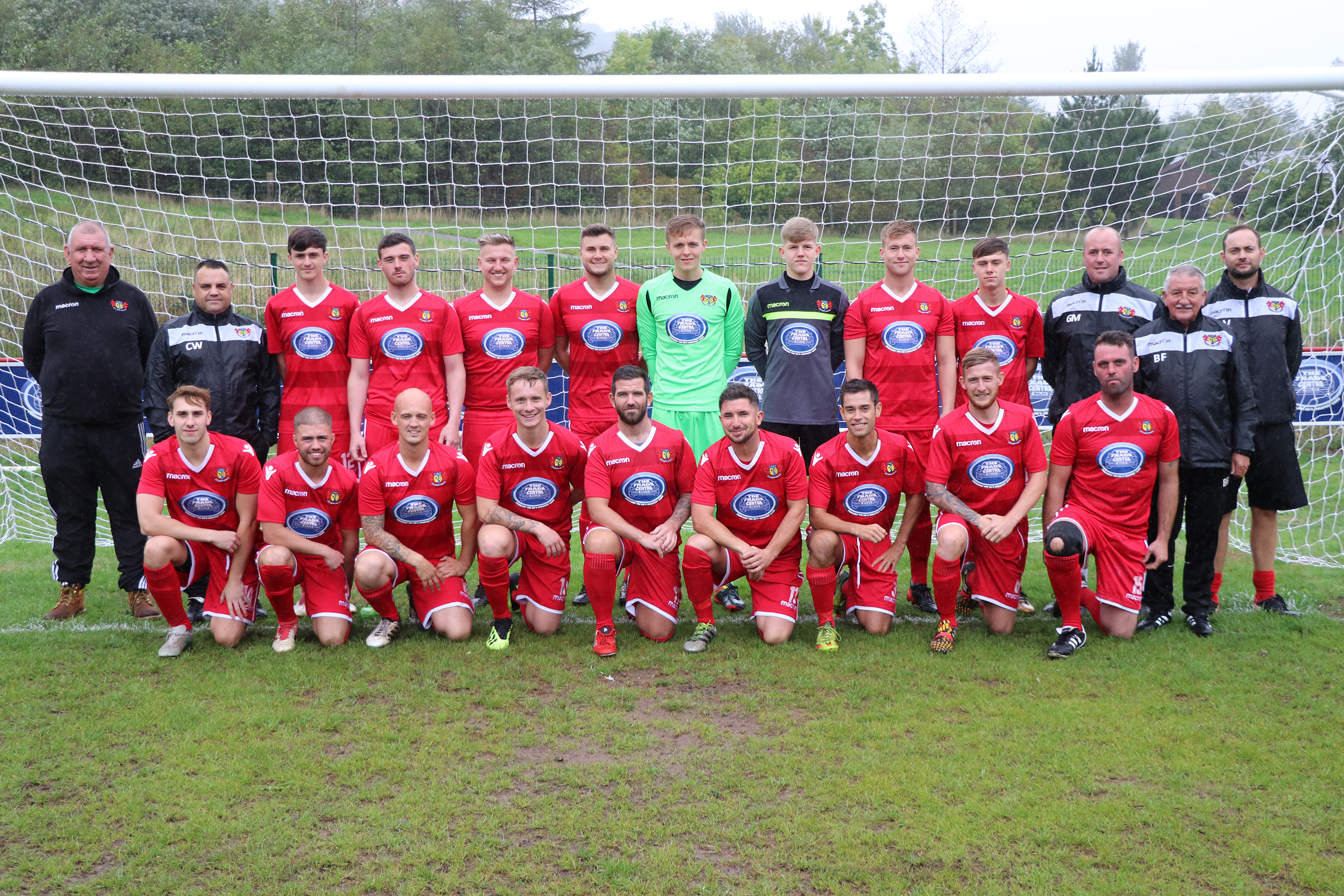 A new kit for the Abertillery Excelsiors thanks to support from The Trade Centre Wales image