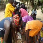 The Water Project: Lungi, Royema Well Rehabilitation -