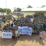 The Water Project: DEC Kamasondo School Well Rehabilitation -