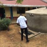 The Water Project: Ebukuya Primary School Rainwater Harvesting and VIP Latrine Project -