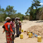 The Water Project: Kisaila New Well Project -