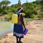The Water Project: Mikuyuni Muumoni Earth Dam New Well Project -