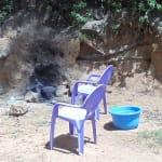 The Water Project: Shiamala Community, David Ashiona Spring -  Traditional Fireplace