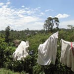 The Water Project: Shiamala Community, David Ashiona Spring -  No Clothesline