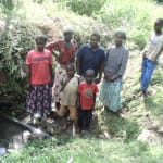 The Water Project: Shiamala Community, David Ashiona Spring -  Community Water Source