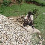 The Water Project: Shiamala Community, David Ashiona Spring -  Making Ballast