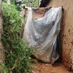 The Water Project: Shitaho Community, Andrea Kong'o Spring -  Improvised Latrine