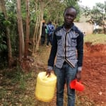 The Water Project: Shitaho Community, Andrea Kong'o Spring -  Going To Fetch Water