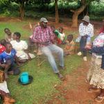The Water Project: Eluhobe Community, Amadi Spring -  Mrs Janet Makutwa Adressing Community Members