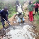 The Water Project: Shiamala Community, David Ashiona Spring -  Construction