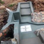 The Water Project: Shitaho Community, Andrea Kong'o Spring -  Construction