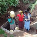 The Water Project: Shiamala Community, David Ashiona Spring -  Protected Spring