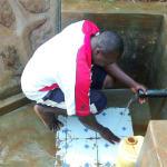 The Water Project: Eluhobe Community, Amadi Spring -  Makutwa Dickson