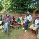 The Water Project: Eluhobe Community, Amadi Spring -  Training