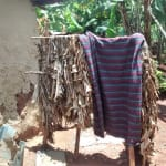 The Water Project: Nyira Community, Ondiek Spring -  Bathing Shelter