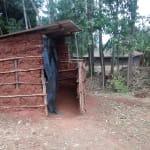 The Water Project: Nyira Community, Ondiek Spring -  Latrine