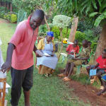 The Water Project: Nyira Community, Ondiek Spring -  Ondiek Oliver Explaining The Role Of The Community In The Project