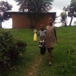 The Water Project: Ematiha Community, Ayubu Spring -  Children Head To The Spring To Fetch Water