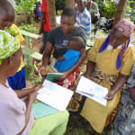 The Water Project: Nyira Community, Ondiek Spring -  Group Discussions