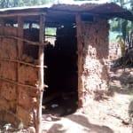 The Water Project: Mkunzulu Community, Museywa Spring -  Latrine