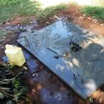The Water Project: Timbito Community, Wakamu Spring -  Sanitation Platform