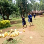 The Water Project: Muleche Primary School -  Off To Fetch Water