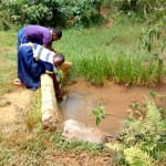 The Water Project: Muleche Primary School -  Fetching Water