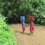 The Water Project: Sankoya Community, Prophecy Primary School -  Carrying Water