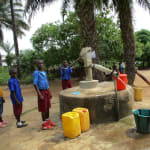 The Water Project: Sankoya Community, Prophecy Primary School -  Well For Rehab