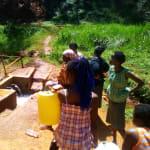 The Water Project: Mudete Community, Wadimbu Spring -  Training