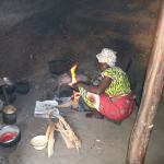 The Water Project: Elukho Community A -  Kitchen