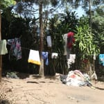 The Water Project: Elukho Community A -  Clothesline
