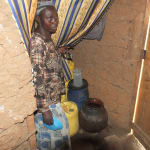 The Water Project: Elukho Community A -  Water Storage