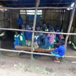 The Water Project: Gemeni Salvation Primary School -  Open Air Classroom
