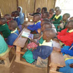 The Water Project: Gemeni Salvation Primary School -  Students Pay Attention To Lessons