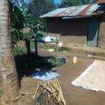 The Water Project: Mukhangu Community, Okumu Spring -  Sample Household