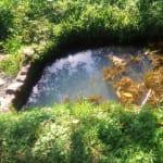 The Water Project: Mukhangu Community, Okumu Spring -  Water Point Of Okumu Spring