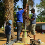 The Water Project: Sankoya Community, Prophecy Primary School -  Well Testing