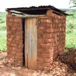 The Water Project: Mbuuni Community B -  Latrine