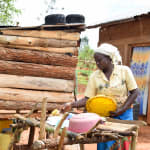 The Water Project: Kitandini Community -  Dish Rack
