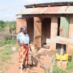 The Water Project: Maluvyu Community B -  Latrine