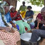 The Water Project: Maluvyu Community B -  Training On Making Soap