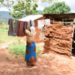 The Water Project: Kitandini Community -  Using A Clothesline