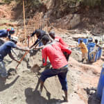 The Water Project: Mbuuni Community B -  Sand Dam Construction
