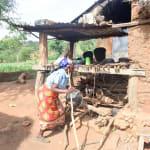 The Water Project: Maluvyu Community B -  Using A Dish Rack