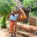 The Water Project: Maluvyu Community B -  Clothesline